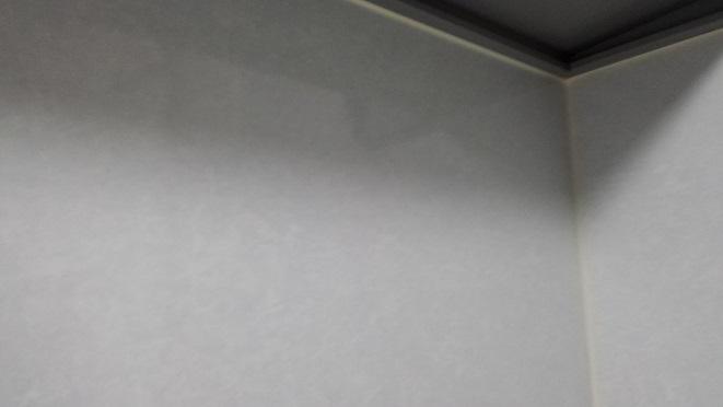 キレイになったガスコンロ周辺の壁面