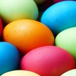 色とりどりの卵