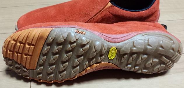 ジャングルグローブの足裏のパターンの様子
