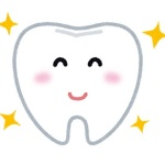 ピカピカに輝いている歯