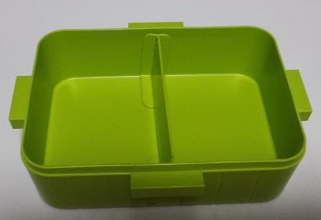 4点ロックランチボックス JOY COLORの内部形状