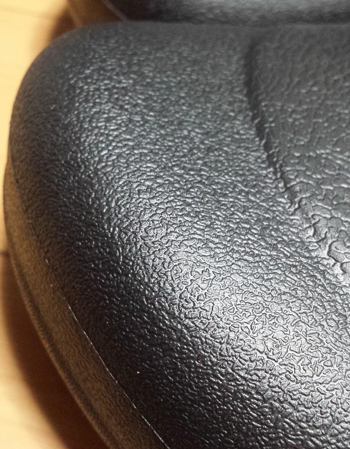 crocs bistro (クロックス ビストロ)の拡大した爪先部分