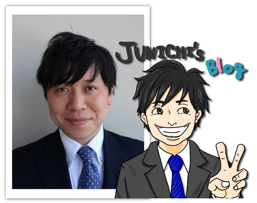 Junichiさんの顔写真&イラスト