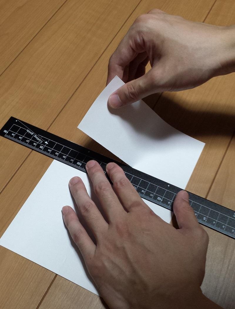 定規で紙を切る方法 専用定規クツワ HiLiNE 購入レビュー!