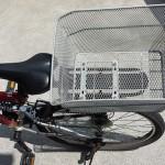 マウンテンバイク(MTB)タイプの自転車に後ろカゴを取り付ける方法