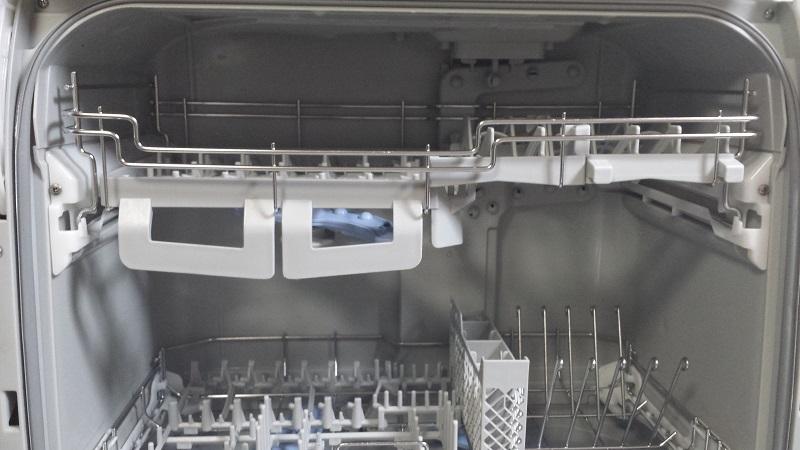 食器洗い乾燥機の内部