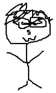三十路男の似顔絵