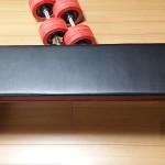 筋トレ用トレーニングベンチLEFB-005は安くて高品質でおすすめ!