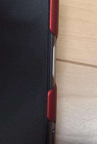Xperia Z5の電源ボタン