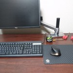 モニターアームを設置できるPC用OAデスクをお探しなら、PLUS ネクシスデスクがおすすめ!