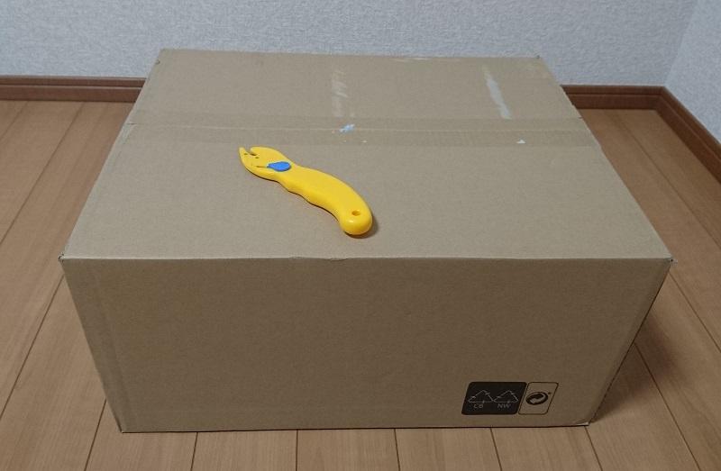 エルゴトロン 45-248-026(デュアル スタッキング)モニターアームのダンボール箱