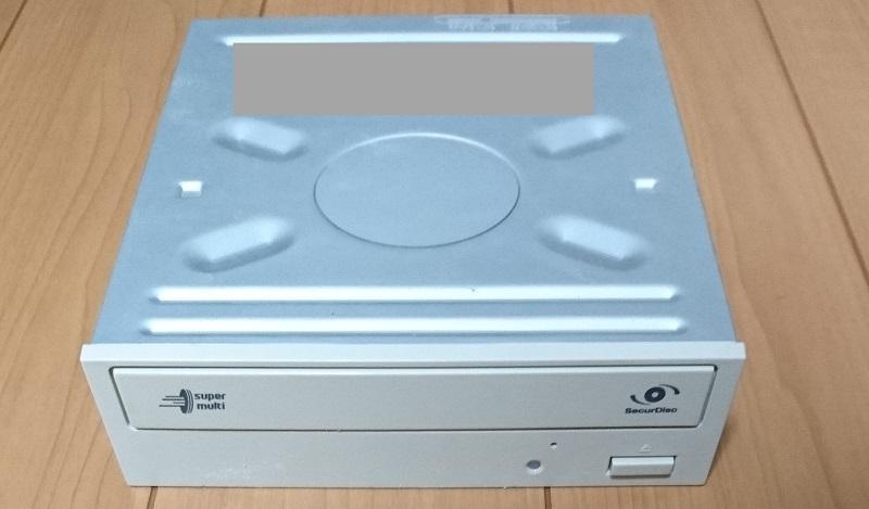3.5インチのPC内蔵型光学ドライブ(DVDドライブ)