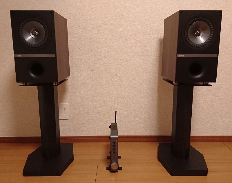 KEF Q300スピーカーとYAMAHA WXA-50