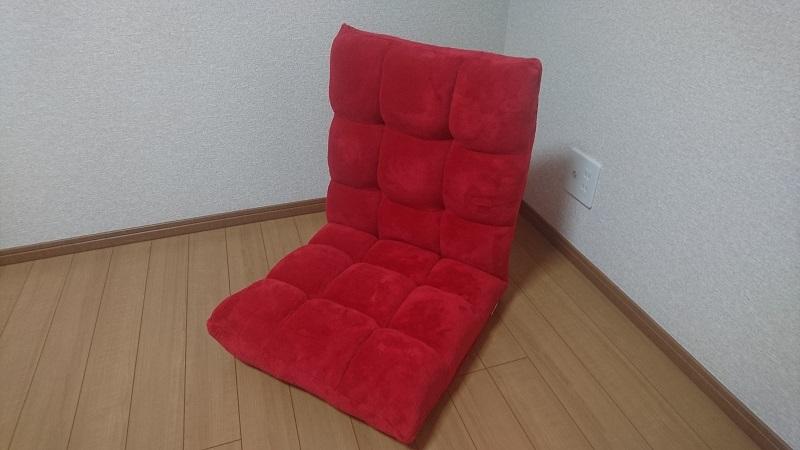 赤い座椅子100-SNC041