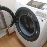 ドラム式洗濯乾燥機 BD-SG100Aのフタを開けている状態