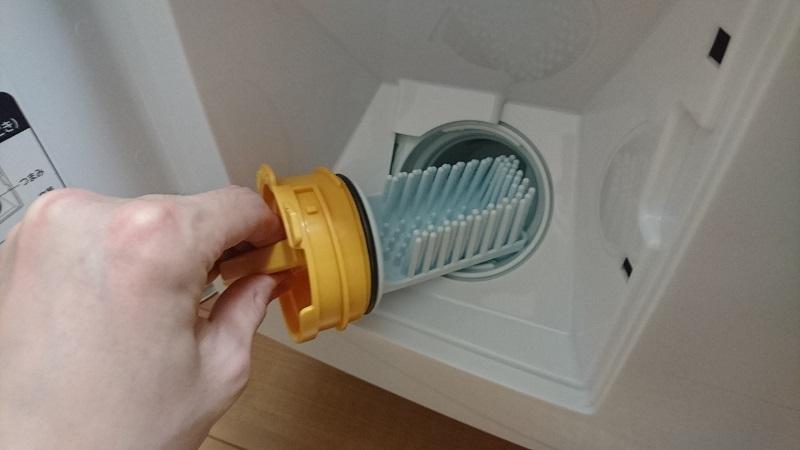 ドラム式洗濯乾燥機 BD-SG100Aの糸くずフィルター本体