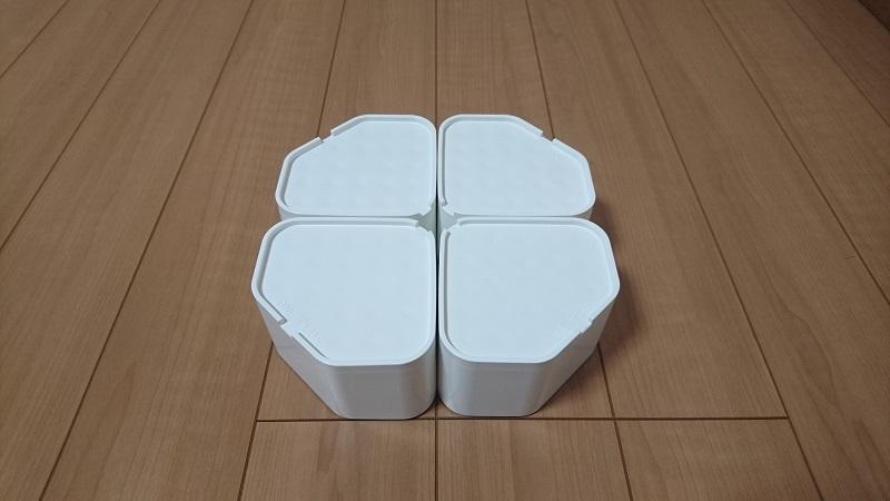 因幡電工 洗濯機用防振かさ上げ(底上げ)台 ふんばるマン OP-SG600