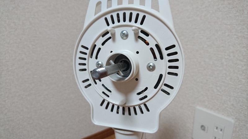 扇風機のモーター部分