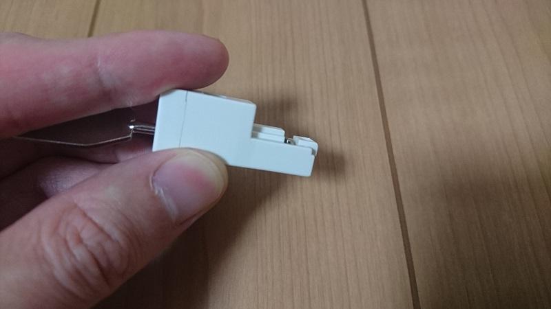 ELECOM LD-LOCK/HUB03のロックを解除している状態