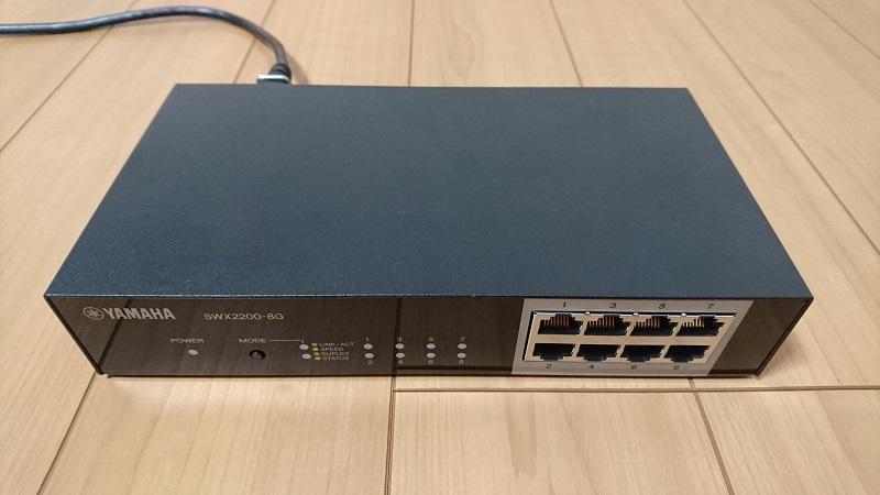 ヤマハ L2スイッチ SWX2200-8G