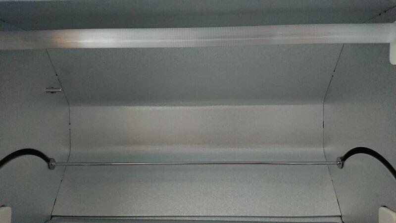 バルミューダ ザ・トースターの庫内上部の電熱ヒーター