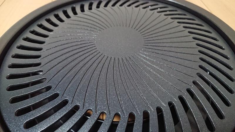 焼肉プレート CB-P-Y2の表面の様子