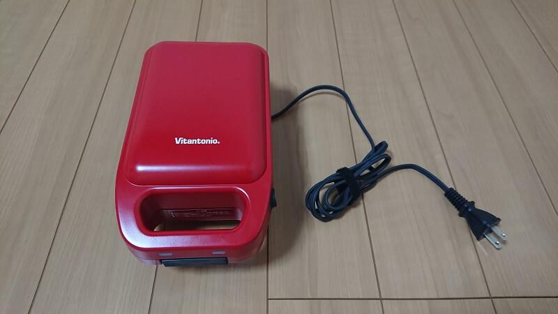 Vitantonio VHS-10-TMの本体