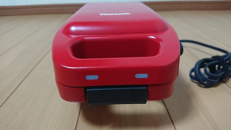Vitantonio VHS-10-TMの本体正面にあるインジケーター部
